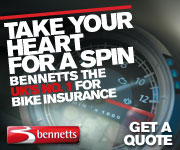 Bennetts - the UK's No.1 for Bike Insurance